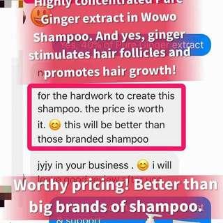 Wowo Shampoo Series
