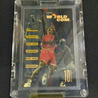 Michael Jordan 美國電話卡 B