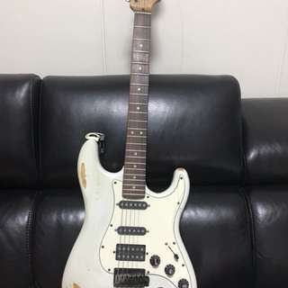 Fender Warmoth Stratocaster Relic