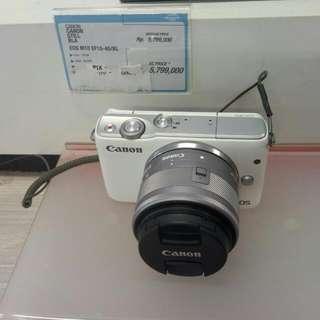 Yuks Nyicil M10 White Series Cukup 199Rb Syarat Mudah Proses Cepat langsung bawa Kamera plus Giftnya