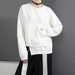 $169 新款不規則寛鬆衛衣 Free Size  : 肩連袖70cm 胸圍136cm 衣長67cm 包郵費