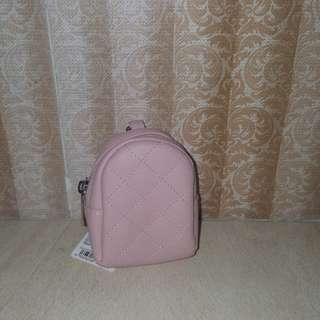 Miniso / Dompet Koin / Gantungan Tas / Gantungan Imut / Pink