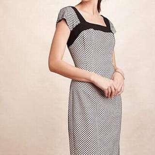 Anthropologie 0 Sheath Dress