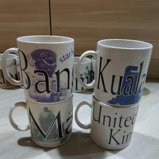 <SOLD> $20= 4 Starbucks Mug