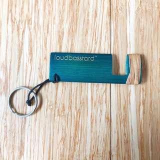 Loudbasstard Keychain