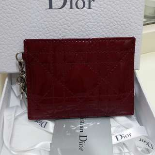 Lady Dior Card Holder