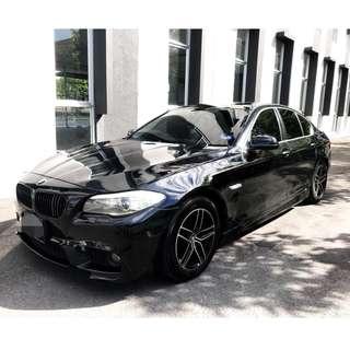 BMW F10 523i LCI - sambung bayar, loan continue