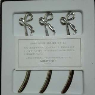 Authentic MIKIMOTO Bookmark(with PEARL)