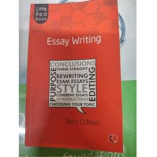Essay Writing by Terry O' Brien