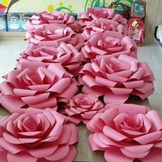 Dekorasi Paper Flower's
