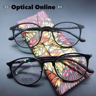 👓超輕熱賣款返貨!護眼抗藍光防UV眼鏡,架連鏡片完全組合👓