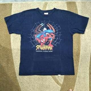 Spiderman T Shirt Universal Studio Japan