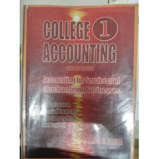 College Accounting 1(Revised Edition) by Ricardo M. Harina