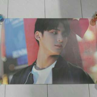 ORIGINAL Seventeen Al1 poster (Mingyu)