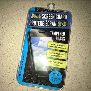 NEW tempered glass for iphone 5/5s/SE