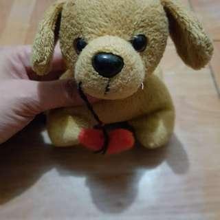 Small doggie stuffed toy