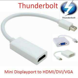 New Mini Displayport Display Port Thunderbolt to HDMI Cable Adapter for Apple MacPro MacBook Pro Air Mini Dell XPS 13 14 15 17 Latitude E7240 E7440 Precision M3800 Laptop Microsoft Surface Pro 2 3 4 Tablet Asus T100 Transformer Book