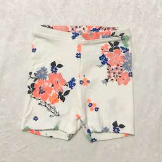 Old Navy Baby Shorts Floral