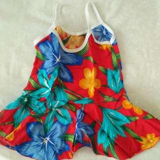 Dress Pantai -Red