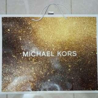 Paperbag / Paper Bag / Tas Karton Branded Michael Kors Superbig