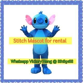 Stitch Mascot Costume for rental (2 version)