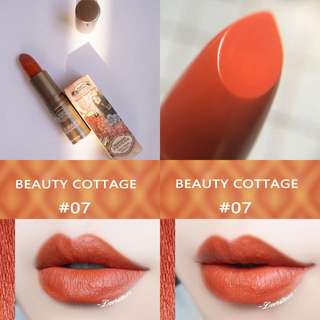 Beauty Cottage lipstick (No.7 Romanesque)
