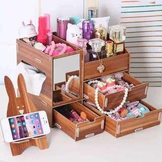 DIY Wood Organizer w/ Cp Stand
