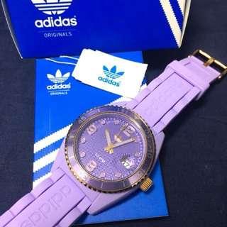 Addidas 紫色手錶