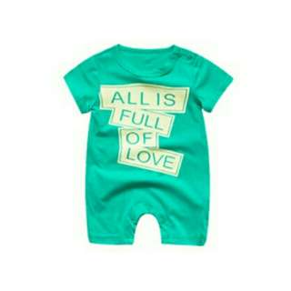 BN All full of love romper