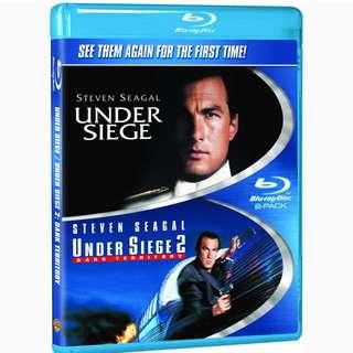 Under Siege & Under Siege 2 (Blu Ray )