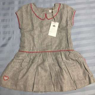 Bnwt Chateau de sable grey dress