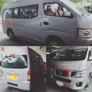 Nissan 15 Seaters Mini Bus for Rental @ $1,800.00 per month