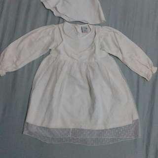 Preloved Baju Muslim Anak + Jilbab