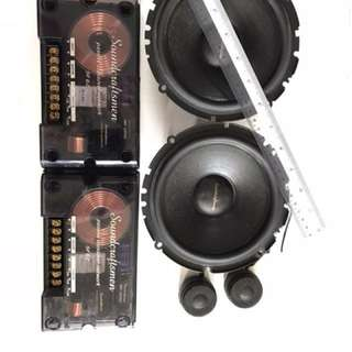 Speaker Bass with woofer Solid sound
