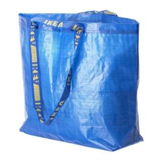 [IKEA] FRAKTA Carrier Bag / Medium / Blue