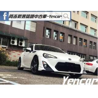 FB搜尋【阿彥嚴選認證車-Yencar】'12年86 白、全額貸、原鈑件、中古車、二手車