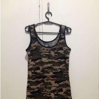 Camouflage Sando