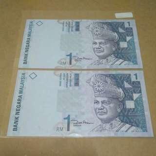 duit seringgit lama - 2 keping