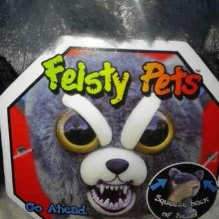 新到Feisty Pets Go Ahead TRY ME! 約10吋高  1款