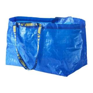 [IKEA] FRAKTA Carrier Bag / Large / Blue