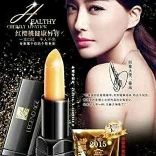 Authentic Legend Age Healthy Cherry Lipstick