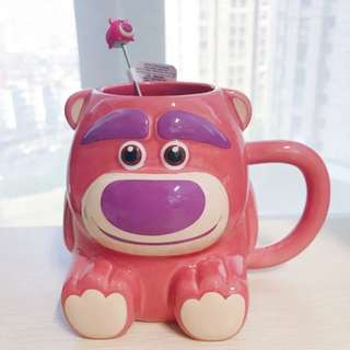 全新勞蘇/草莓熊玩具總動員杯 lotso( 現貨)