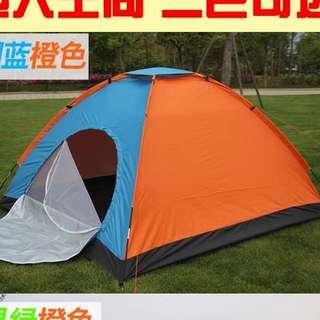 二人情侶家庭户外帳篷 露營 營幕
