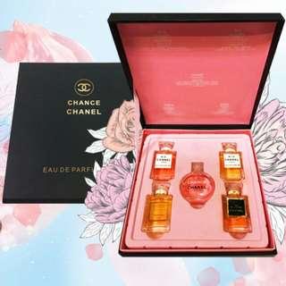 Chanel 5pcs Miniature Set