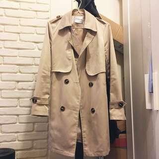 韓國乾濕外套 Trench coat