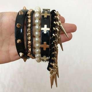 F21 All-In-One Bracelets