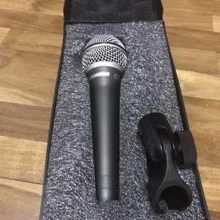 Microphone for stage and studio