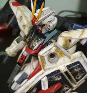 [Price Reduced!] HG 1/100 Freedom Gundam (Painted and weathering applied)