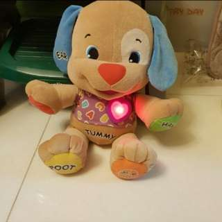 Fisherprice laugh n learn puppy