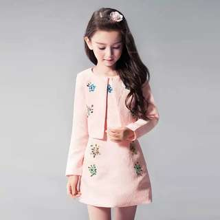 Girls birthday dresses long-sleeved princess skirt autumn flower girl dresses women dresses children's birthday dresses children's clothing